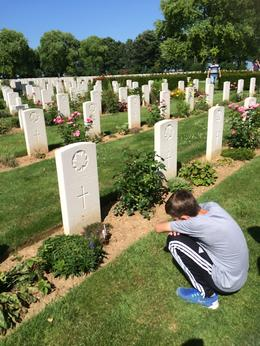 Reflecting on the young men lost at D-Day and in the days following. , Monica M - August 2016