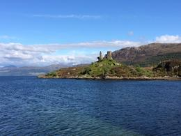 Castle Moil ruins in Kyleakin on the Isle of Skye, lgs888 - June 2014