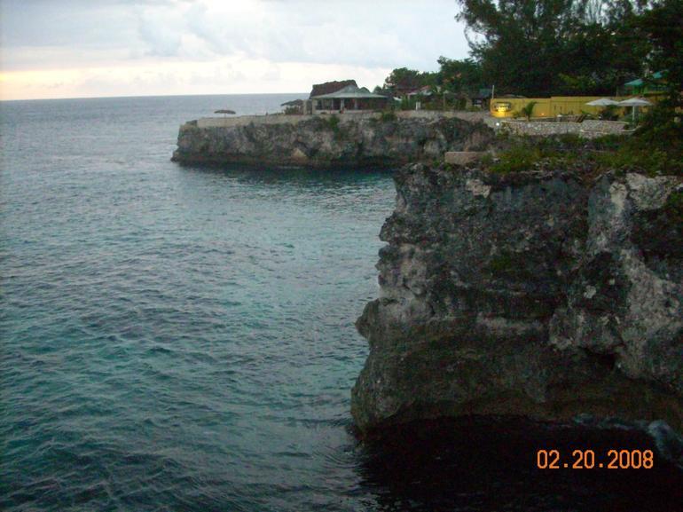 Cliffs at Ricks Cafe - Montego Bay