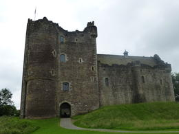 Doune Castle - look familiar? It's one of the castles from Monty Python and the Holy Grail. , Christine - July 2012
