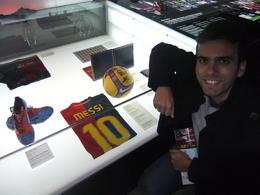 In the museum., Fernando Camarate Santos - February 2013