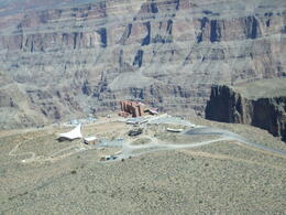 Home of the Grand Canyon Skywalk, Becky - May 2012