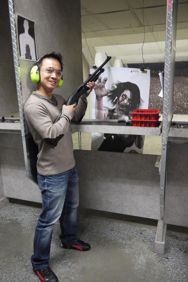 First shotgun - Las Vegas