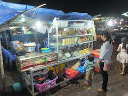 Mobile food stall on the tour , Cedric R - September 2014