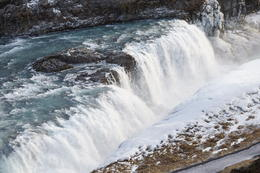 Gulfoss Waterfall , Gary B - February 2013