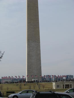 washington monument , Andrew B - March 2011