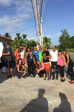JERRY AND OUR TEAM at El Yunque Rainforest , Pamela D - August 2016