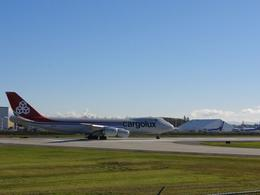 Even some brand new planes taking off from Paine Field, right next to the start of the tour, John C - November 2010