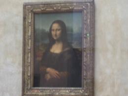 Mona Lisa de Leonardo da Vinci no Louvre., Mohamed R - June 2008