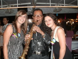 The saxophone player, absolutely amazing. , Hannah W - August 2012