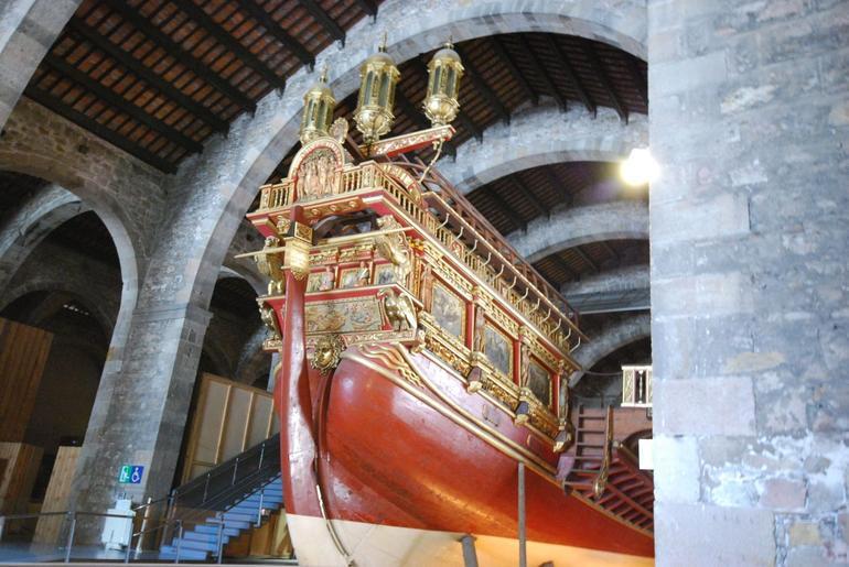 Museu Maritim 14th Century Ship - Barcelona