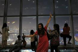 100th floor of the World Financial Center, Cat - August 2012