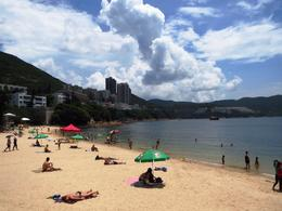 The beach at Stanley, near the Stanley Market on the south side of the island. , BethanieKay - July 2014