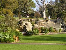 The botanical gardens along the Sydney Harbour are beautiful and great for bike riding., Christine C - July 2008