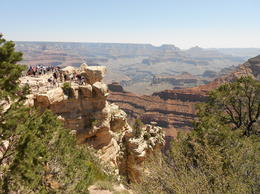 The canyon from the rim , Jennifer B - May 2012
