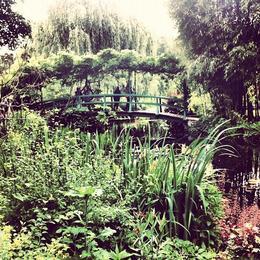 Monet's garden in Giverny, Ryan & Asha - April 2013