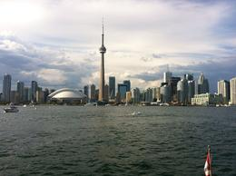 View of the Toronto skyline from the harbor cruise , LaleiG - August 2012