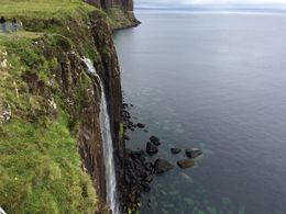 Coastal waterfall on Skye , MaryAnne - September 2015