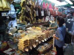 Wet market in Hong Kong - August 2012