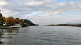 A view of the Danube during the boat ride , Andrew P - October 2016