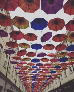 Bath umbrella street , Jessica H - June 2017