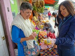 Street markets in Corrillos , Richard W - July 2017