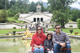 Myself, spouse and daughter , Muhammad A - August 2017
