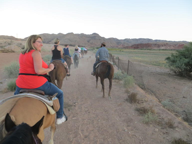Wild West Sunset Horseback Ride with Dinner from Las Vegas photo 20