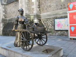 Statue of Molly McGuire in Dublin's Fair City , Jo M - October 2017