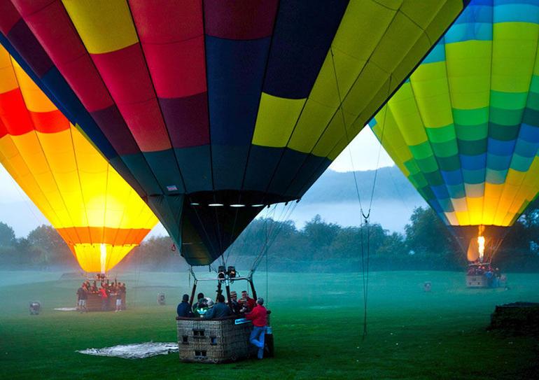 Ready for Napa's skies on our hot air balloon - Napa & Sonoma