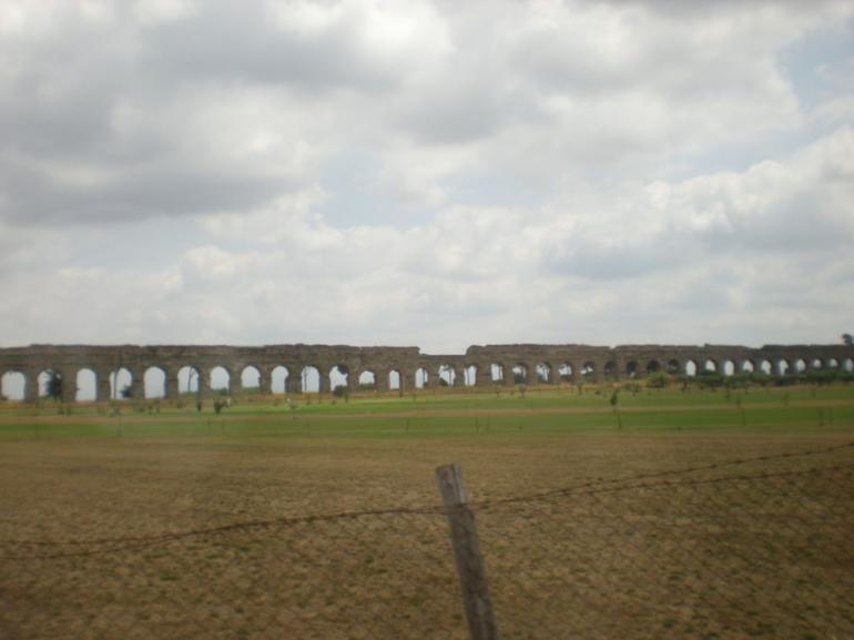 A Roman Aqueduct - Rome