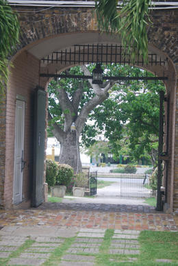 Entrance Gate to the Barbados Museum, Louise H - July 2011