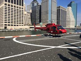 This was the helicopter from Liberty Helicopters that flew us over the sights of New York , David P - November 2014