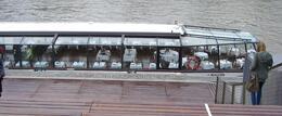 Vi hadde plass på tomannsbord i denne båten , Guri S - July 2013