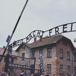 Entrance to Auschwitz 1 , Daniel S - October 2016
