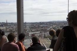 A nice view from the Gravity Bar. Crowded, but you get a free fresh as ever possible Guiness. , jpd_11 - October 2012