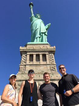 Great shot of our visit to the Statue of Liberty. Thanks Sal! , Thomas M - July 2016