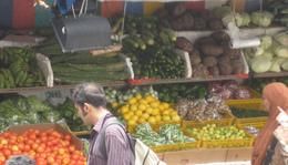 Wonderful markets for fresh fruit and vegetables - September 2009