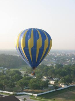 Hot Air Balloon - October 2009
