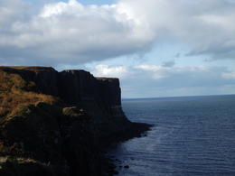 Cliffs and sea and dramatic sky --Lovely... , Randy S - October 2012