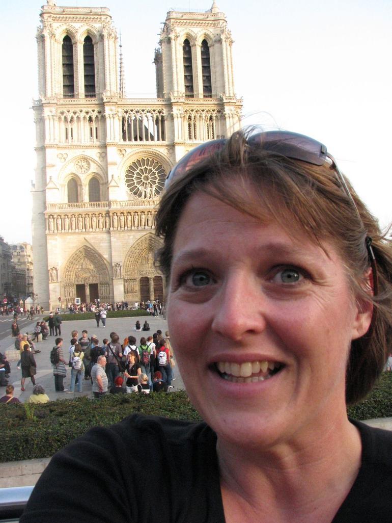 Me by Notre Dame - Paris