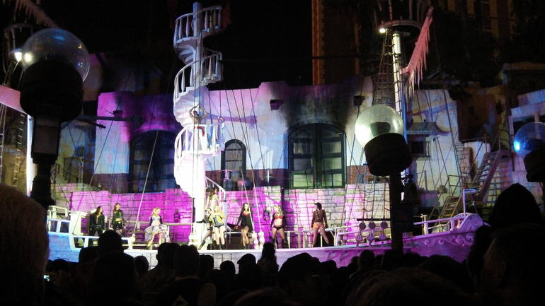 Pirate show at Treasure Island - Las Vegas