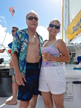 David and Merry on ship , David H - September 2014