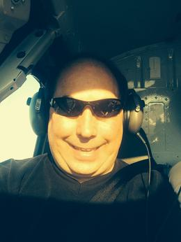 Me on the helicopter , John W - August 2014