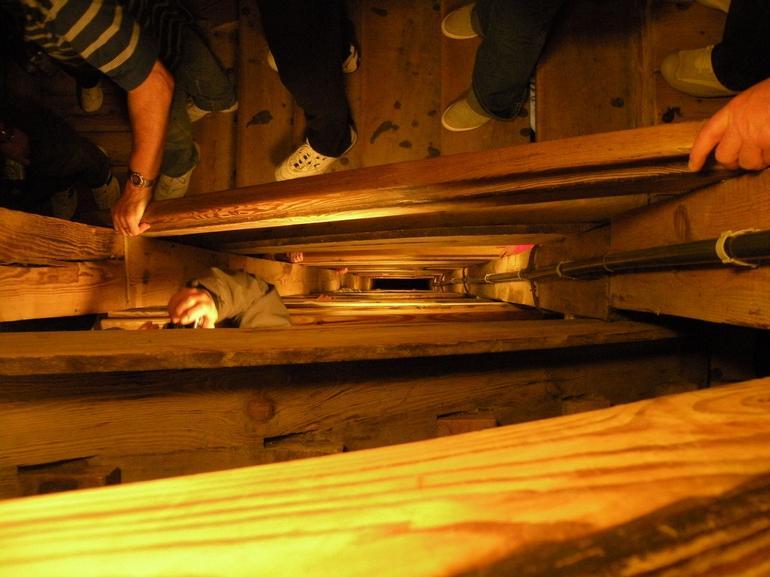 Staircase - Wieliczka Salt Mine - Krakow