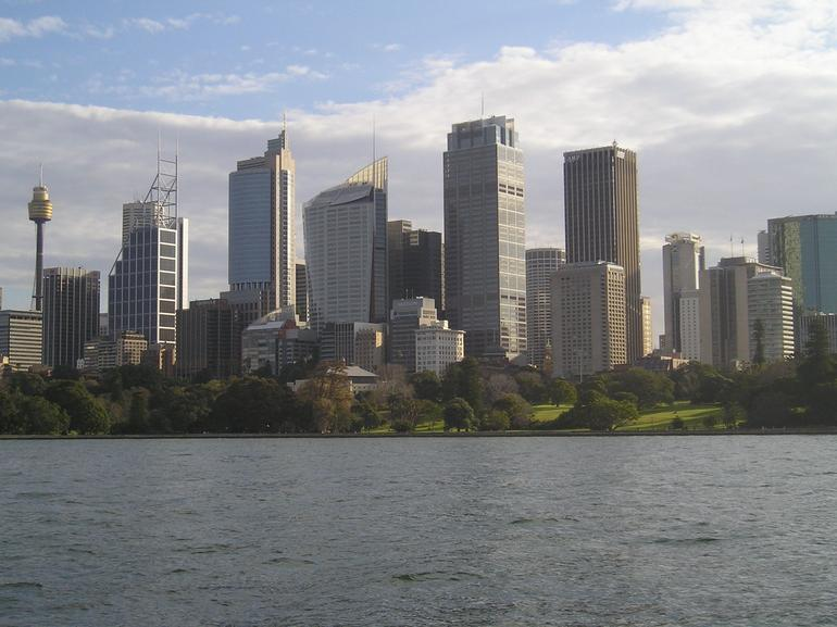 Sydney Bike Tour - Sydney Skyline - Sydney