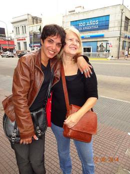 Jayleen Macdonald with tour guide , Tours - December 2014