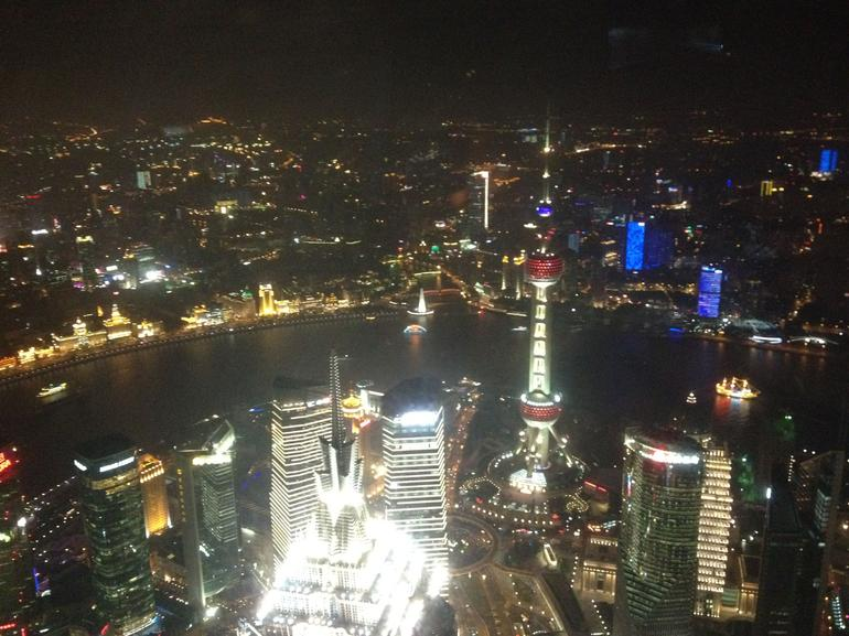 View from the World Financial Center - Shanghai