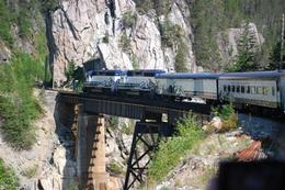 One of the times the train slows down to go over the gorges and allows you to take lots of photos., Jennifer H - May 2011