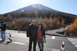 Mark and Judy at Mt Fuji! , Mark and Judy - December 2016